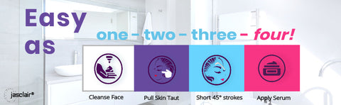 Dermaplaning at home is easy to do in four simple steps.