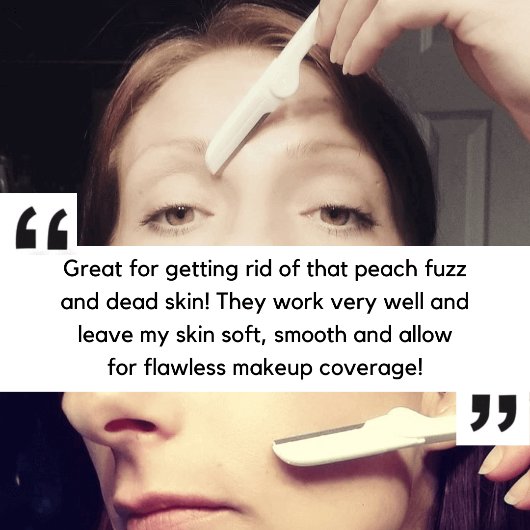Great tool for getting rid of peach fuzz and dead skin