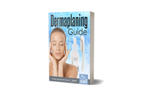 Dermaplaning at home ebook guide