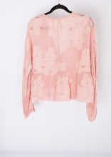 Load image into Gallery viewer, Wilfred Pink Floral Sheer Blouse (M)