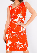 Load image into Gallery viewer, Vintage Max Mara Cherry Printed Dress (S)