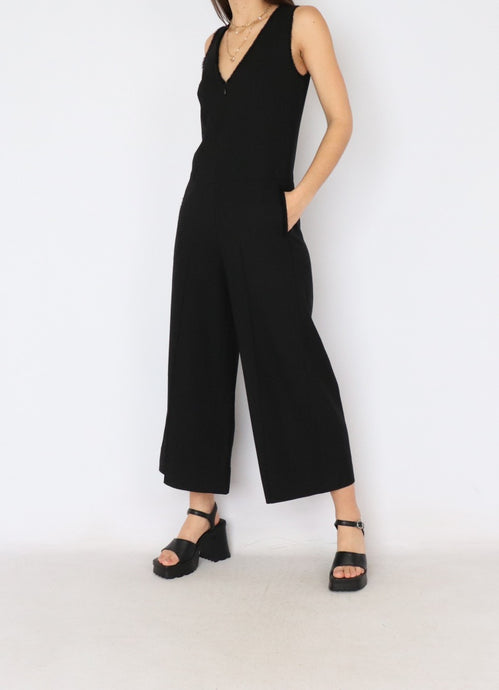 Kit & Ace Black Jumpsuit (S)