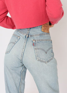 Vintage Levi's Light-Wash Denim (L)