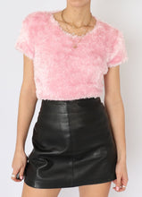 Load image into Gallery viewer, Vintage Fuzzy Baby Pink Top (M, L)