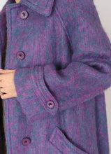 Load image into Gallery viewer, Vintage Cotton Candy Mohair Coat (S)