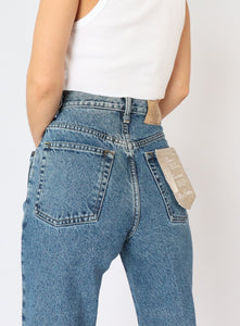 Vintage Cotton Ginny Mid-Wash Denim (XS)
