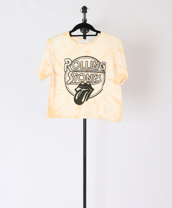 Rolling Stones Cropped Tee (XS, S)