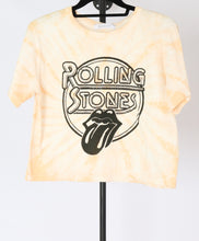 Load image into Gallery viewer, Rolling Stones Cropped Tee (XS, S)