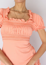 Load image into Gallery viewer, Vintage Peach Dress (S)