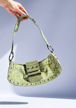 Load image into Gallery viewer, Vintage Green Guess Mini Purse