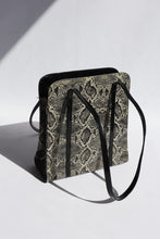 Load image into Gallery viewer, Vintage Snakeskin PVC Bag