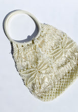 Load image into Gallery viewer, Vintage Cream Knit Summer Bag