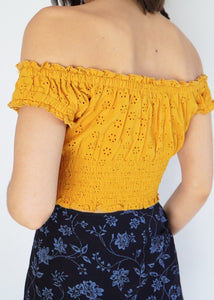 Modern Yellow Crop (XS)