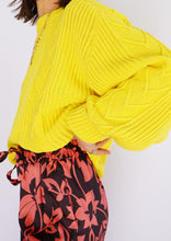 Load image into Gallery viewer, Vintage Yellow Cotton Knit Sweater (S-XL)