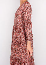 Load image into Gallery viewer, VINTAGE ROSEY PINK FLORAL DRESS (XS, S)