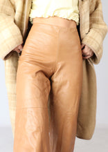 Load image into Gallery viewer, VINTAGE TAN DANIER LEATHER PANT (M)