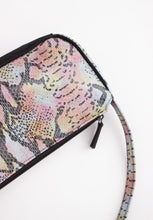 Load image into Gallery viewer, VINTAGE IRIDESCENT SNAKESKIN MINI