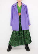 Load image into Gallery viewer, VINTAGE PURPLE CASHMERE JACKET (M, L)