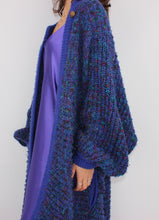 Load image into Gallery viewer, VINTAGE CONFETTI HAND-KNIT CARDIGAN (L, 42)