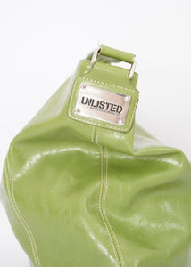 Vintage Green Apple Slouch Bag