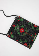 Load image into Gallery viewer, VINTAGE BEADED POPPY PURSE