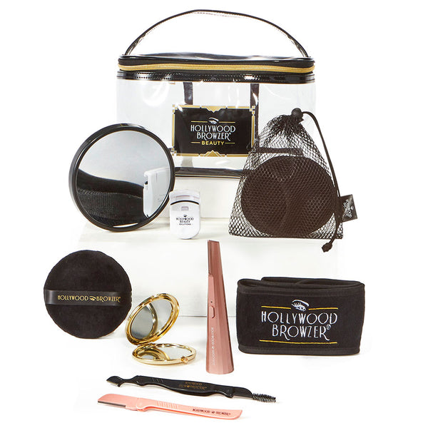 THE ULTIMATE HOLLYWOOD BROWZER BEAUTY PAMPER KIT