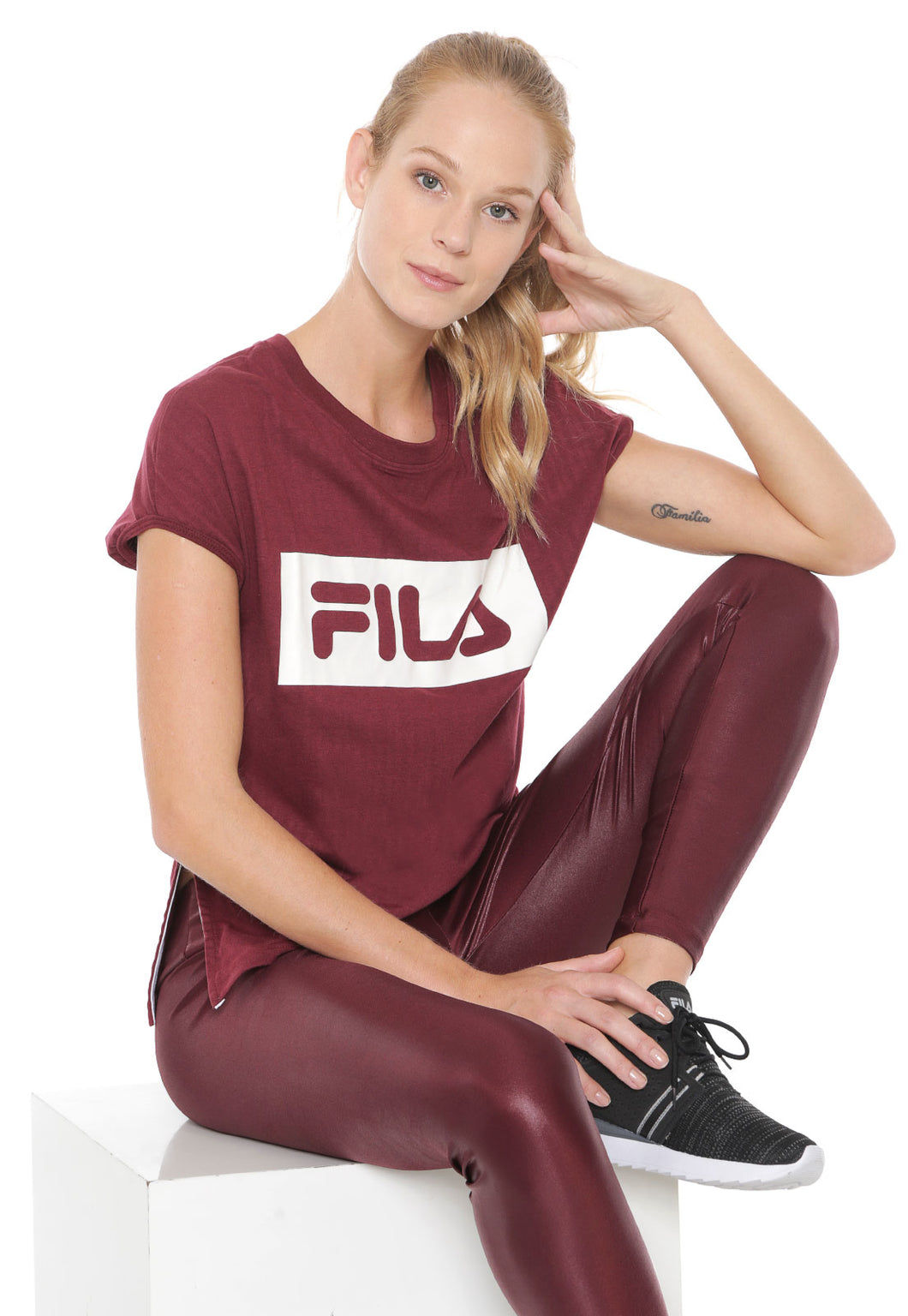 Blusa Feminina  Fila Sports Box - ta110110