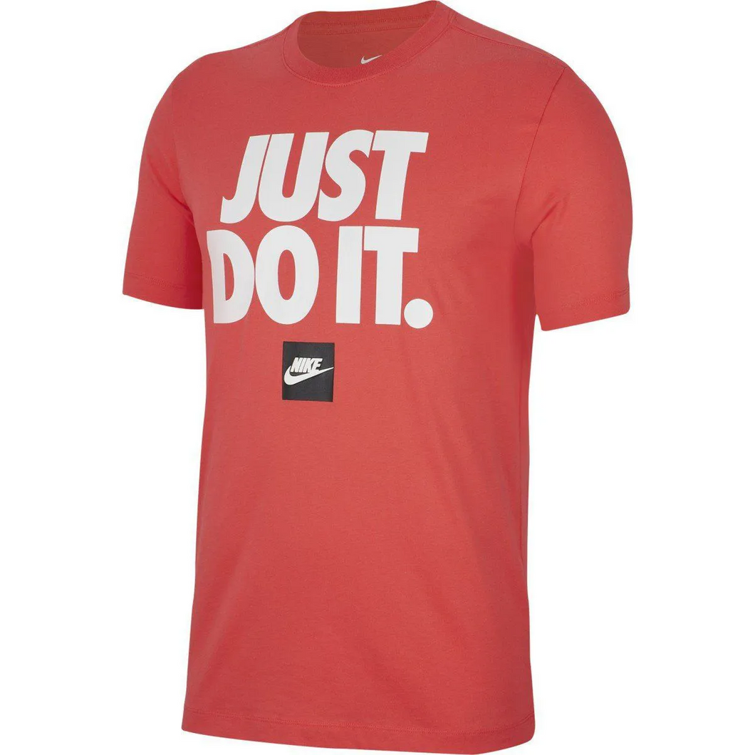 Camiseta Casual Masculina Nike SportsWear SS TEE Just Do It 3 -bv7662-850