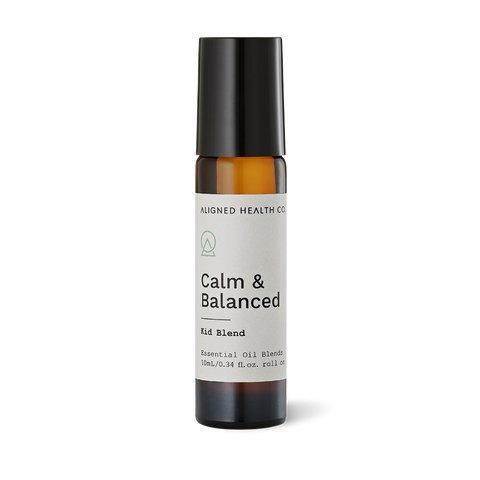 Aligned Health Co. - Essential Oil Roller Blends - Calm & Balanced Kid Roller Blend