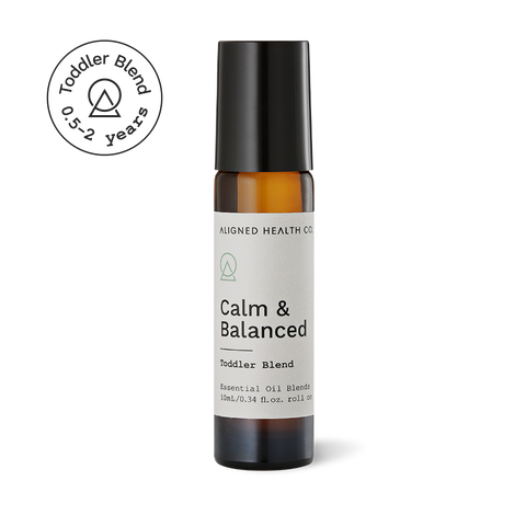 Aligned Health Co. - Essential Oil Roller Blends - Calm & Balanced Toddler Roller Blend