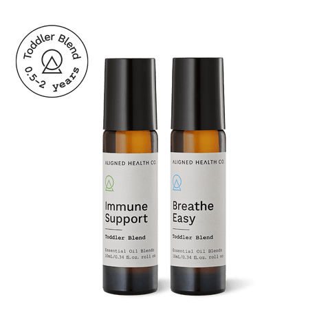 Aligned Health Co. - Essential Oil Roller Blends - Immune Boost toddler collection