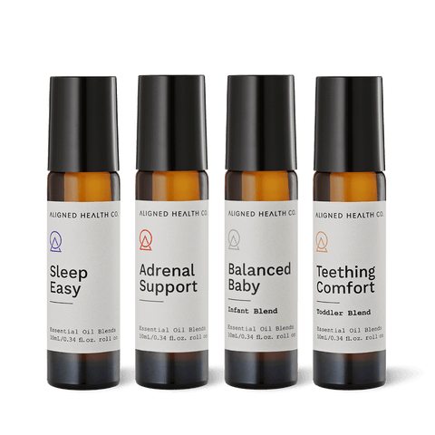 Aligned Health Co. - Essential Oil Roller Blends - Mums and Bubs collection