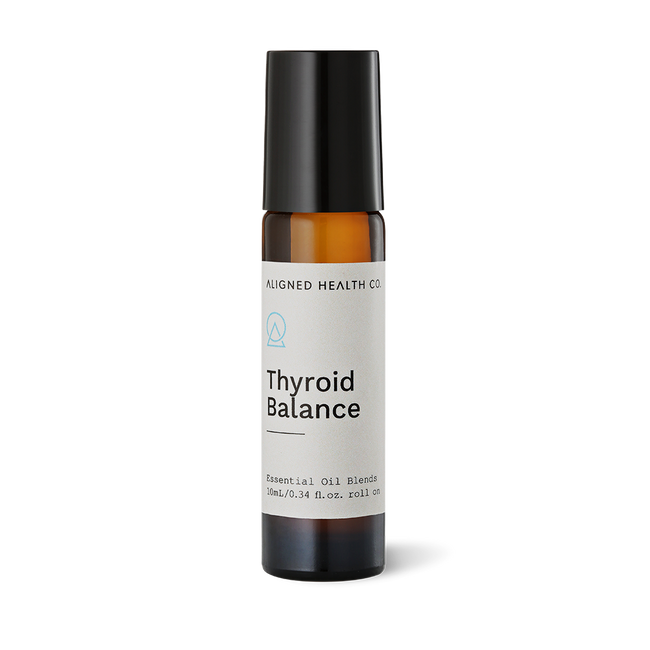 Aligned Health Co. - Essential Oil Roller Blends - Thyroid Balance roller blend