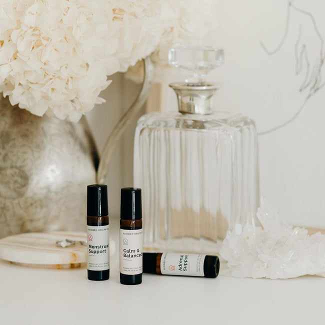 Aligned Health Co. - Essential Oil Roller Blends - Women's Wellness collection