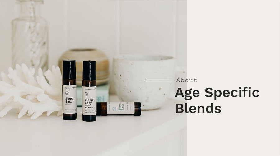 Aligned Health Co. Essential Oil Roller Blends - Women's Wellness collection