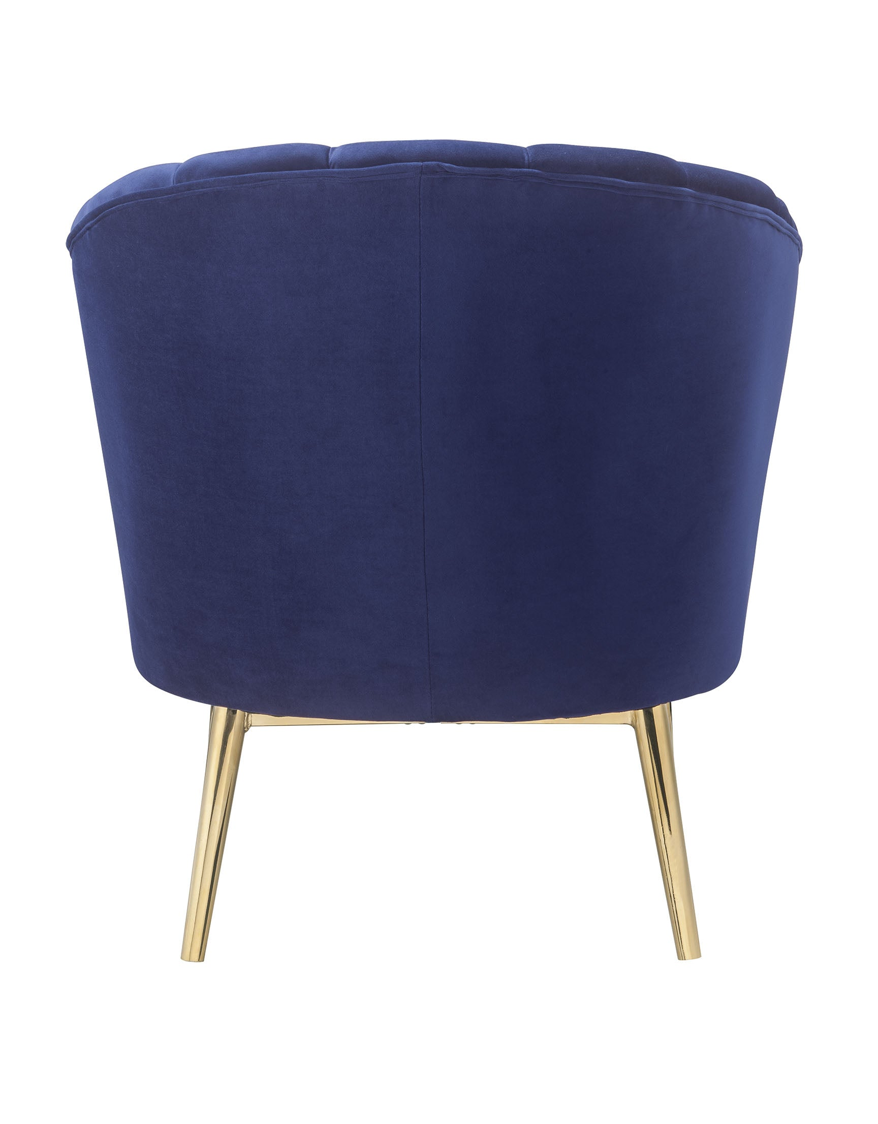 "32"" X 31"" X 34"" Blue Accent Chair"