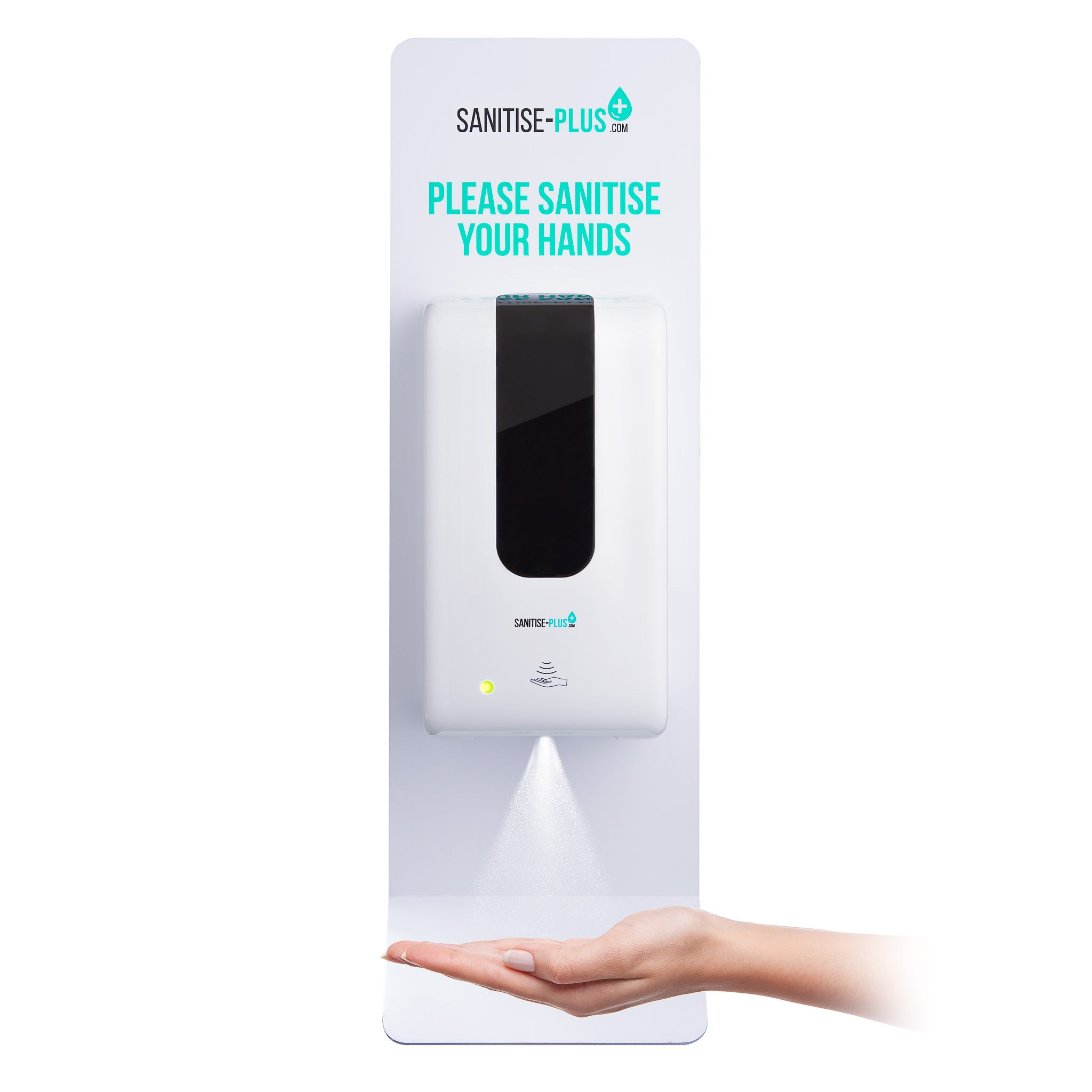 Sanitise Plus® SPW508 Extra Heavy Duty Touch Free Floor-standing Hand Sanitising Station