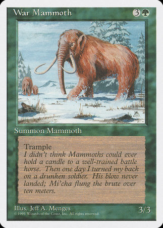War Mammoth [Fourth Edition] | Calico Keep
