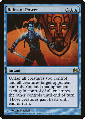 Reins of Power [Commander 2011] | Calico Keep