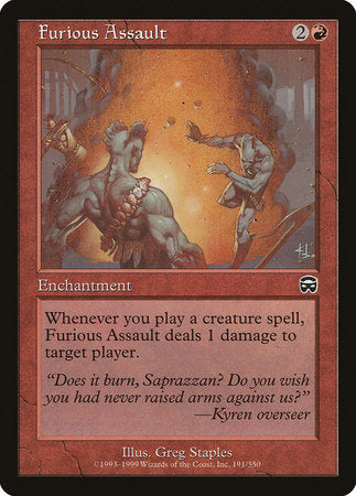 Furious Assault [Mercadian Masques] | Calico Keep