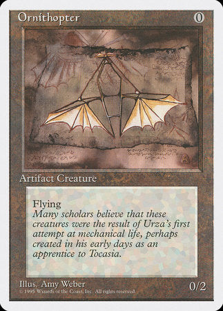 Ornithopter [Fourth Edition] | Calico Keep