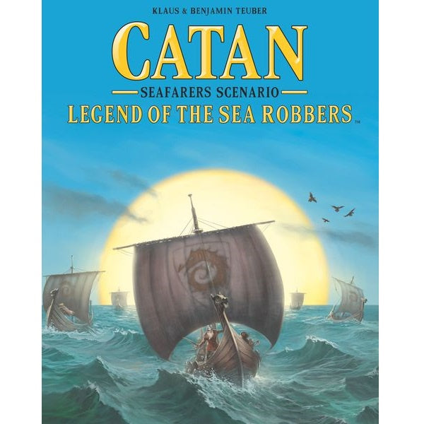 Catan: Seafarers Scenario - Legend of the Sea Robbers | Calico Keep