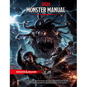 D&D Rulebook - Monster Manual | Calico Keep