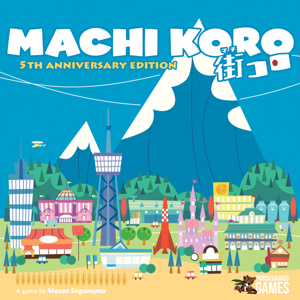 Machi Koro 5th Anniversary Edition | Calico Keep