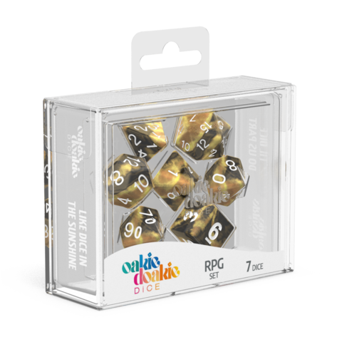 Oakie Doakie Dice - Gemidice RPG Set