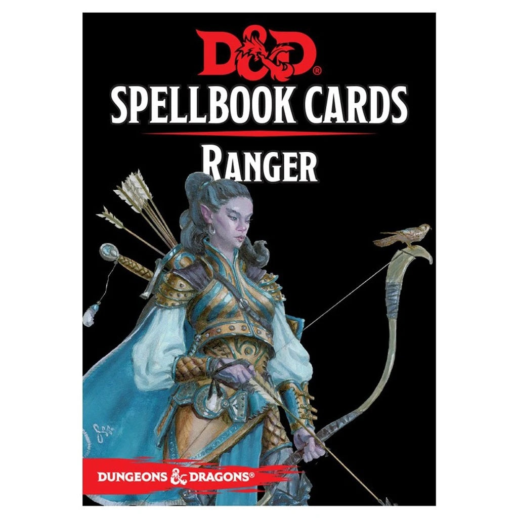 D&D Spellbook Cards - Ranger | Calico Keep