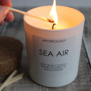 Sea Air Scented Candle