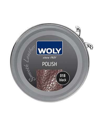 WOLY Leather Polish 50ml - Black