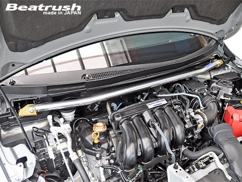 Beatrush Front Strut Bar - Honda Fit RS GK5 2014+