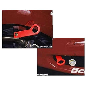 Beatrush Red Tow Hook Set 1989-2005 Miata (NA-NB)